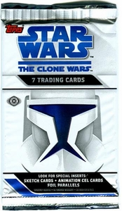 Topps Star Wars Clone Wars Animated Series Trading Card Pack