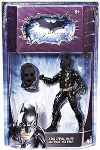 Batman Dark Knight Movie Master Deluxe Action Figure Survival Suit Bruce Wayne