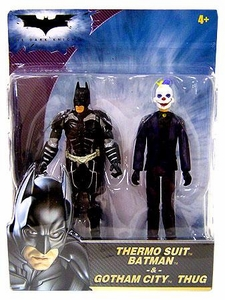 Batman The Dark Knight Mini Figure 2-Pack Thermo Suit Batman & Gotham City Thug