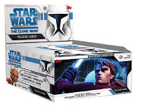 Topps Star Wars Clone Wars Animated Series Trading Card Box [24 Packs]