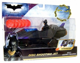 Batman Dark Knight Movie Disc Shooting Jet
