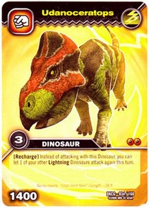 Dinosaur King TCG Single Card Common DKCG-034 Udanoceratops
