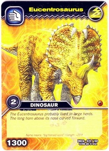 Dinosaur King TCG Single Card Common DKCG-035 Eucentrosaurus