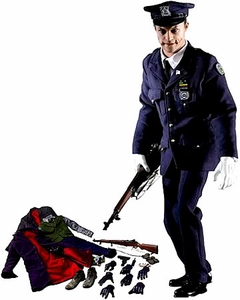 Batman Dark Knight Hot Toys Movie Masterpiece 1/6 Scale Collectible Figure DX-01 Joker in Police Uniform