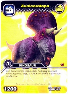Dinosaur King TCG Single Card Common DKCG-038 Zuniceratops