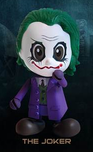 Batman Dark Knight Hot Toys 3 Inch Mini Cosbaby Figure The Joker