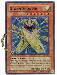 YuGiOh GX Cyberdark Impact Single Card Super Rare CDIP-EN032 Storm Shooter