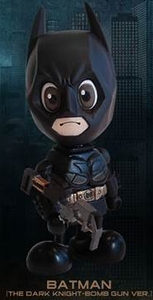 Batman Dark Knight Hot Toys 3 Inch Mini Cosbaby Figure Batman