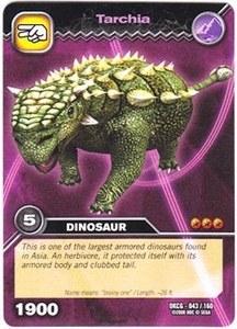 Dinosaur King TCG Single Card Common DKCG-043 Tarchia