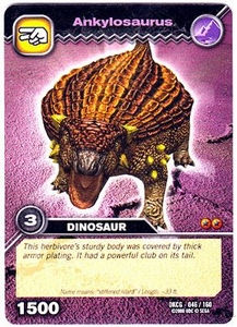 Dinosaur King TCG Single Card Common DKCG-046 Ankylosaurus