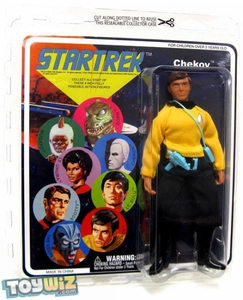 Diamond Select Star Trek Original Series Cloth Retro Action Figure Series 6 Ensign Pavel Chekov