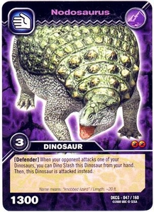 Dinosaur King TCG Single Card Common DKCG-047 Nodosaurus