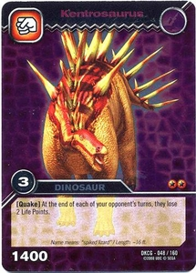 Dinosaur King TCG Single Card Silver DKCG-048 Kentrosaurus