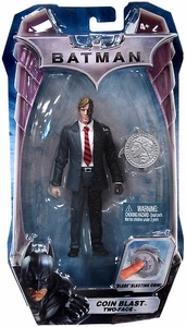 Mattel Batman Dark Knight Movie 5 Inch Action Figure Coin Blast Two-Face