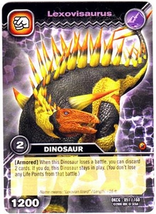 Dinosaur King TCG Single Card Common DKCG-051 Lexovisaurus