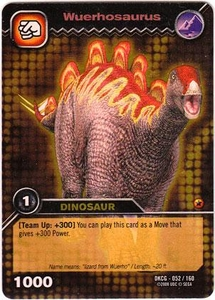 Dinosaur King TCG Single Card Gold DKCG-052 Wuerhosaurus