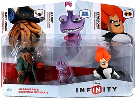 Disney Infinity Villains Figure 3-Pack Davy Jones, Randy & Syndrome