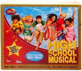 Topps High School Musical Trading Cards & Stickers Complete Collection of All 100 Cards & Stickers