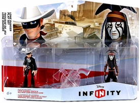 Disney Infinity Lone Ranger Play Set Figure 2-Pack Lone Ranger, Tonto & All New Lone Ranger Game