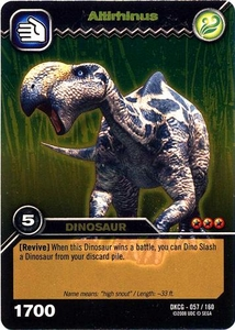 Dinosaur King TCG Single Card Gold DKCG-057 Altirhinus