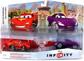 Disney Infinity Cars Play Set Lightning McQueen & Holley Shiftwell