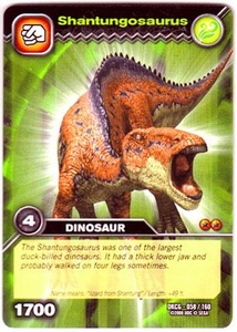Dinosaur King TCG Single Card Common DKCG-058 Shantungosaurus