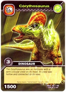 Dinosaur King TCG Single Card Common DKCG-061 Corythosaurus