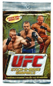 Topps UFC Ultimate Fighting Championship 2010 Stick-N-Move Graphic Display Box [20 Packs]