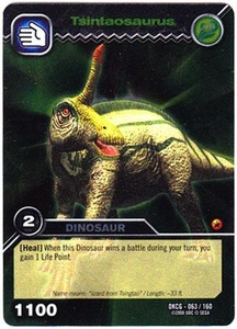 Dinosaur King TCG Single Card Silver DKCG-063 Tsintaosaurus