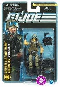 GI Joe Pursuit of Cobra 3 3/4 Inch Action Figure General Clayton Hawk Abernathy [Commander]