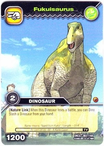 Dinosaur King TCG Single Card Common DKCG-065 Fukuisaurus