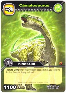 Dinosaur King TCG Single Card Common DKCG-067 Camptosaurus