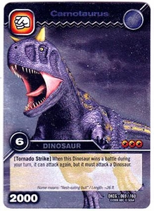 Dinosaur King TCG Single Card Silver DKCG-069 Carnotaurus