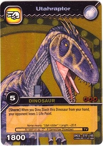 Dinosaur King TCG Single Card Gold DKCG-070 Utahraptor