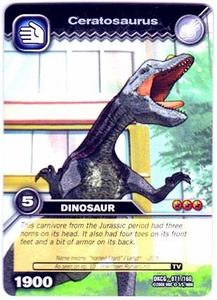 Dinosaur King TCG Single Card Common DKCG-071 Ceratosaurus