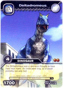 Dinosaur King TCG Single Card Common DKCG-072 Deltadromeus