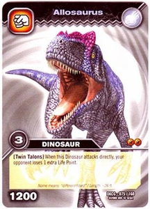 Dinosaur King TCG Single Card Common DKCG-075 Allosaurus