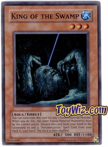 YuGiOh Hobby League Promo Card Single HL1-EN006 King of the Swamp RARE!