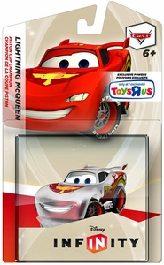 Disney Infinity Exclusive Game Figure Crystal Lightning McQueen [Translucent]