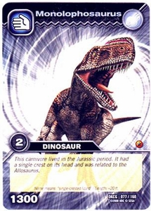 Dinosaur King TCG Single Card Common DKCG-077 Monolophosaurus