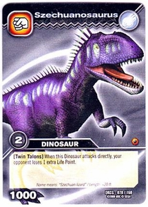 Dinosaur King TCG Single Card Common DKCG-078 Szechuanosaurus