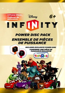 Disney Infinity Exclusive Series 1 Power Disc Pack [Includes Mike's Car]