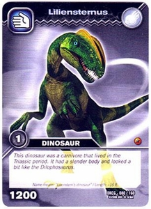 Dinosaur King TCG Single Card Common DKCG-080 Liliensternus