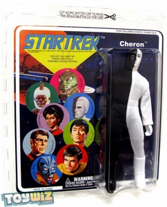 Diamond Select Star Trek Original Series Cloth Retro Action Figure Series 6 Cheron