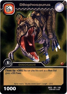 Dinosaur King TCG Single Card Gold DKCG-081 Dilophosaurus