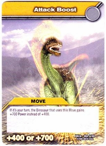 Dinosaur King TCG Single Card Common DKCG-084 Attack Boost