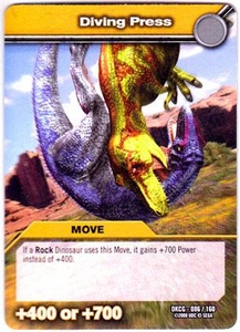 Dinosaur King TCG Single Card Common DKCG-086 Diving Press