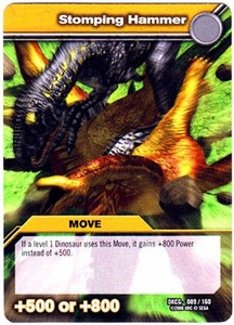 Dinosaur King TCG Single Card Common DKCG-089 Stomping Hammer