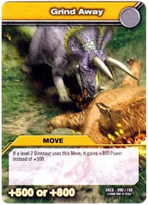 Dinosaur King TCG Single Card Common DKCG-090 Grind Away