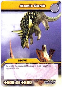 Dinosaur King TCG Single Card Common DKCG-091 Atomic Bomb